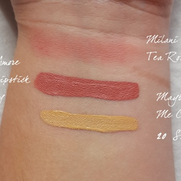 drugstore haul 2 swatches