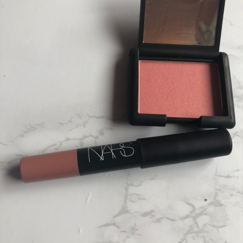 sephora, sephora birthday gift, sephora haul, makeup, beauty, makeup review, blush, lipstick, nars, nars blush, nars lipstick