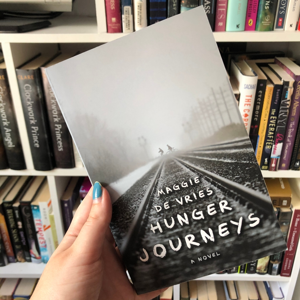 book, books, hunger journeys, maggie de vries