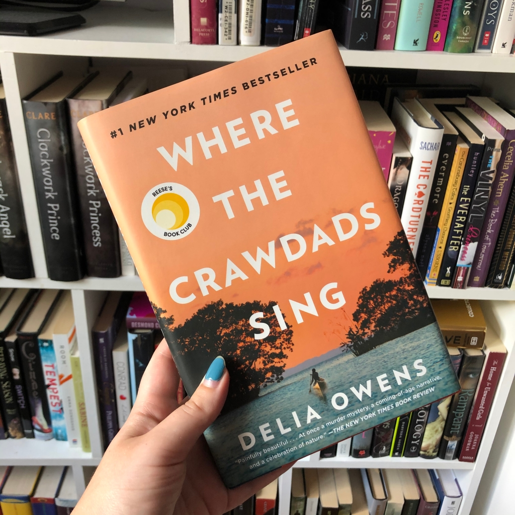 book, where the crawdads sing, delia owens