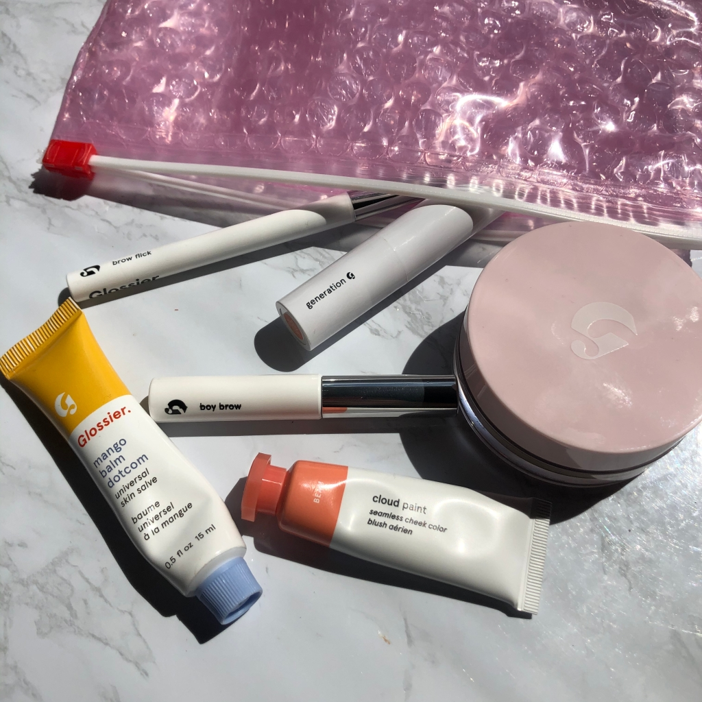 glossier, glossier haul, glossier products, makeup, makeup products, makeup review, beauty, makeup haul, beauty haul