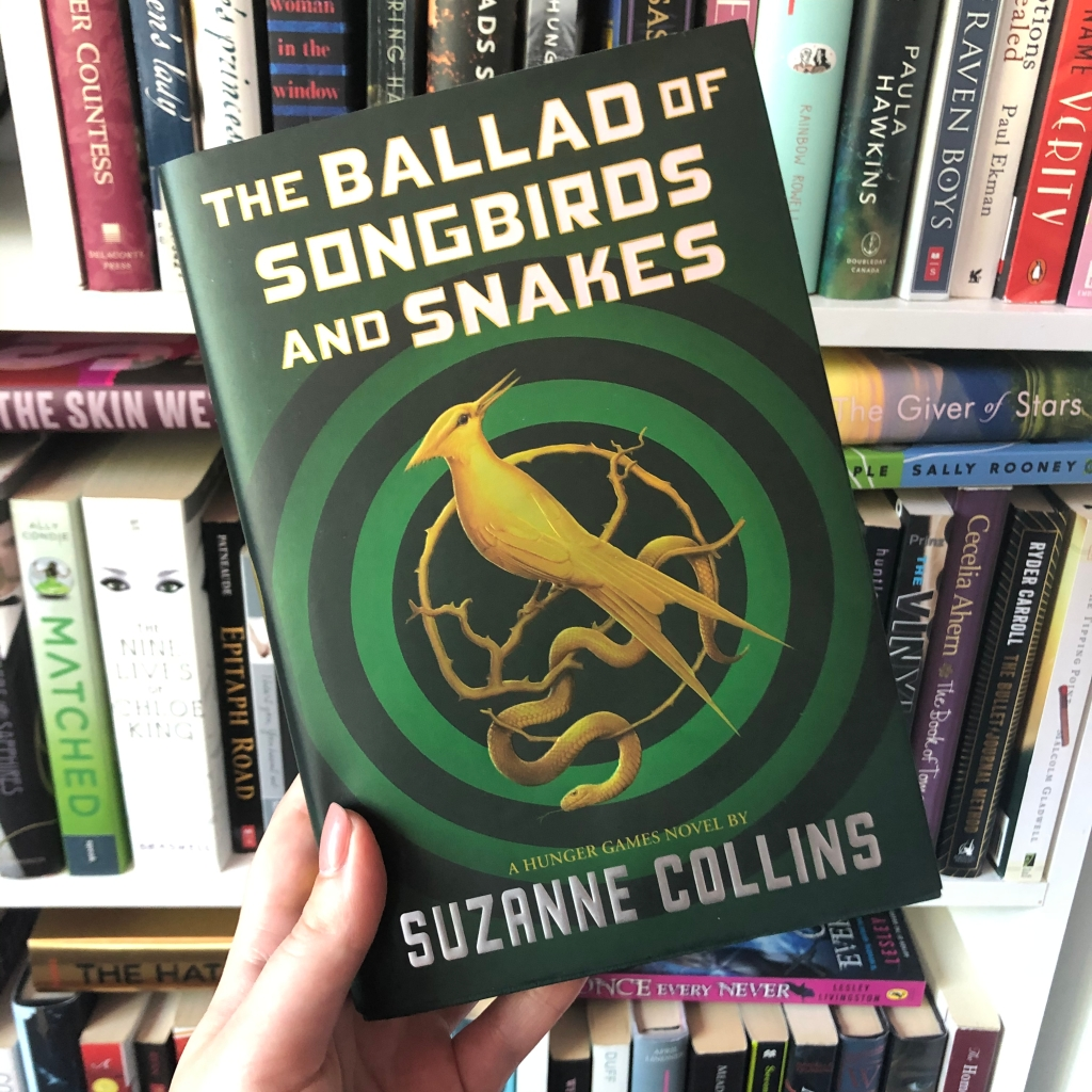 The Ballad of Songbirds and Snakes, Hunger Games, Suzanne Collins