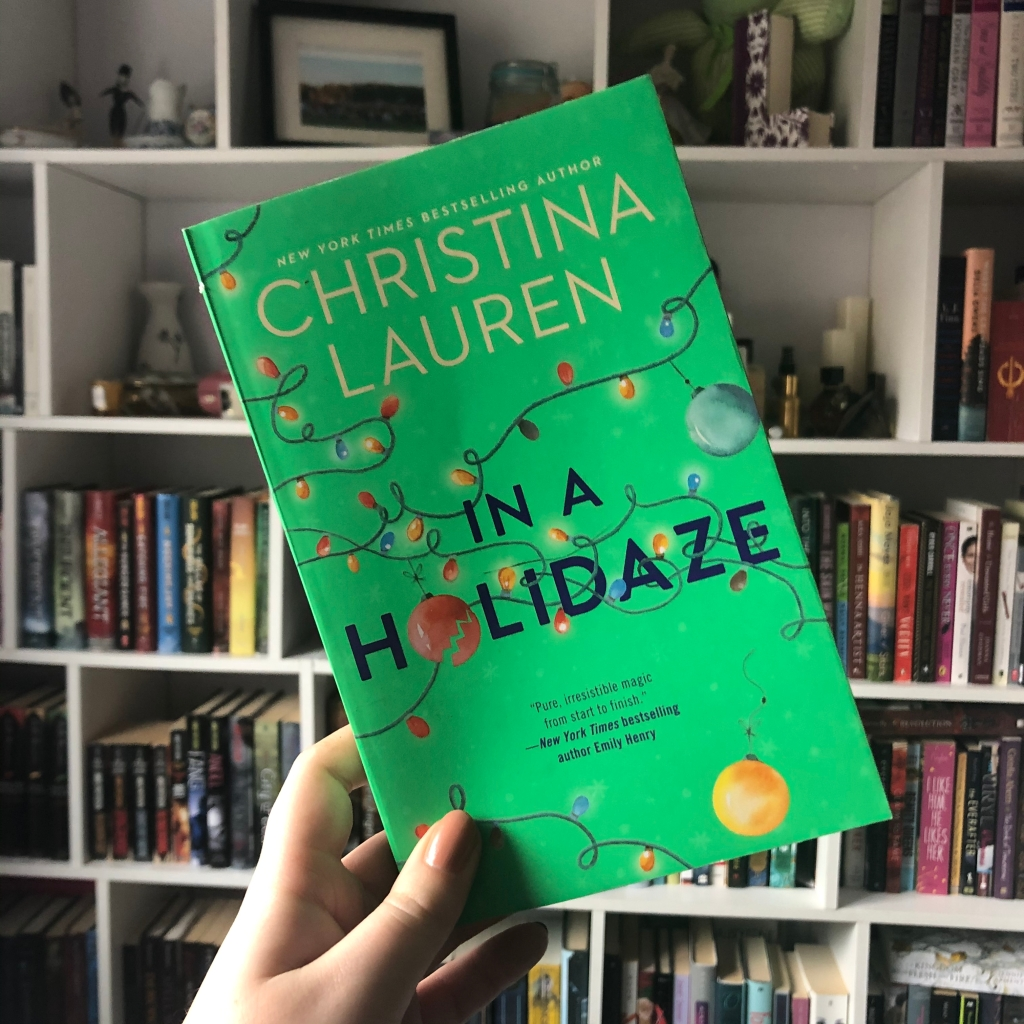 book, in a holidaze, christina lauren