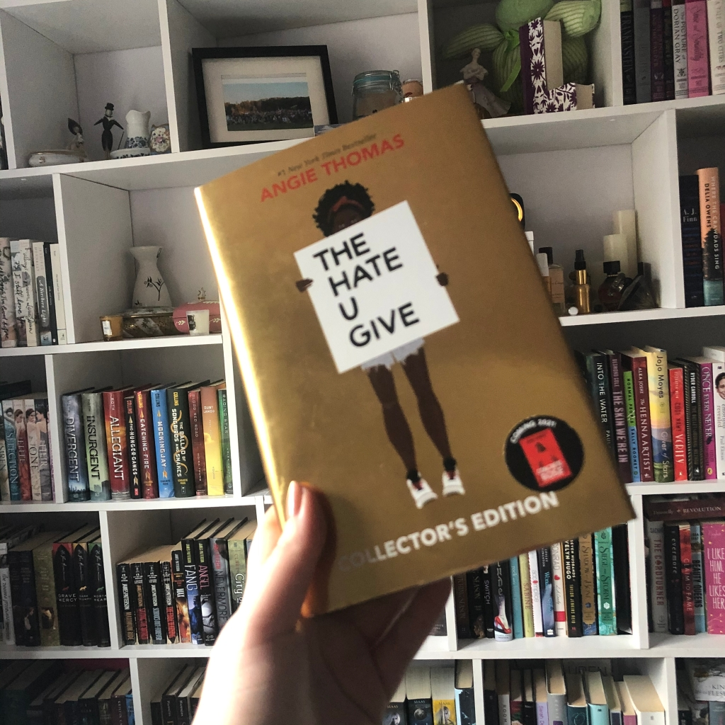 book, the hate u give, angie thomas