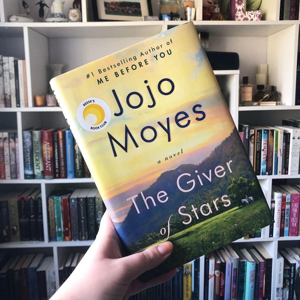 book, book review, historical fiction, Jojo Moyes, The Giver of Stars, The Giver of Stars by Jojo Moyes, Reese's Book Club
