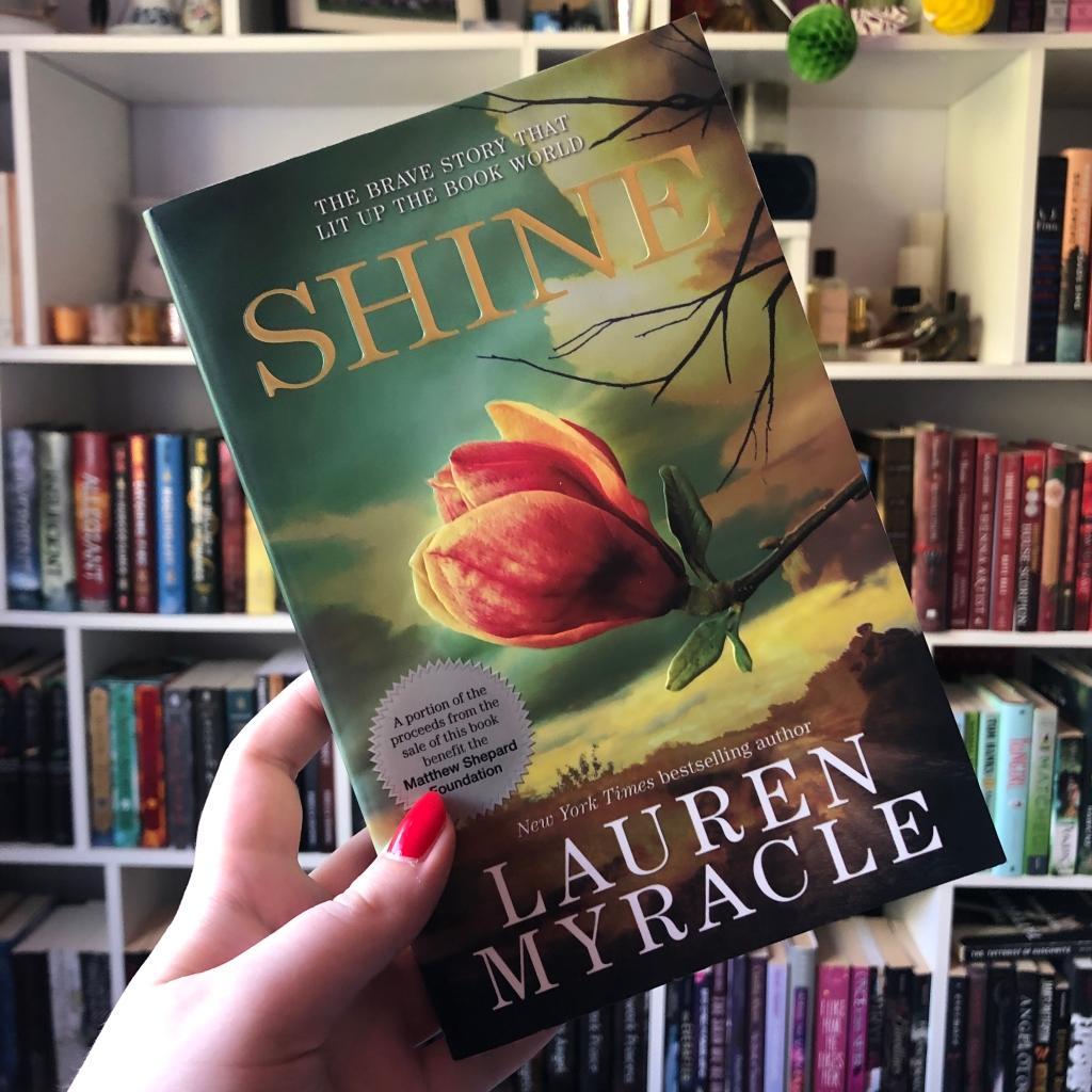 """Shine"" by Lauren Myracle"